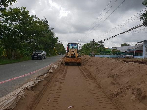 Vải địa kỹ thuật là vật liệu quen thuộc trong thi công cầu đường