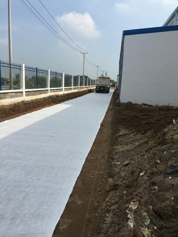 Vải địa kỹ thuật được áp dụng ở nhiều dạng công trình