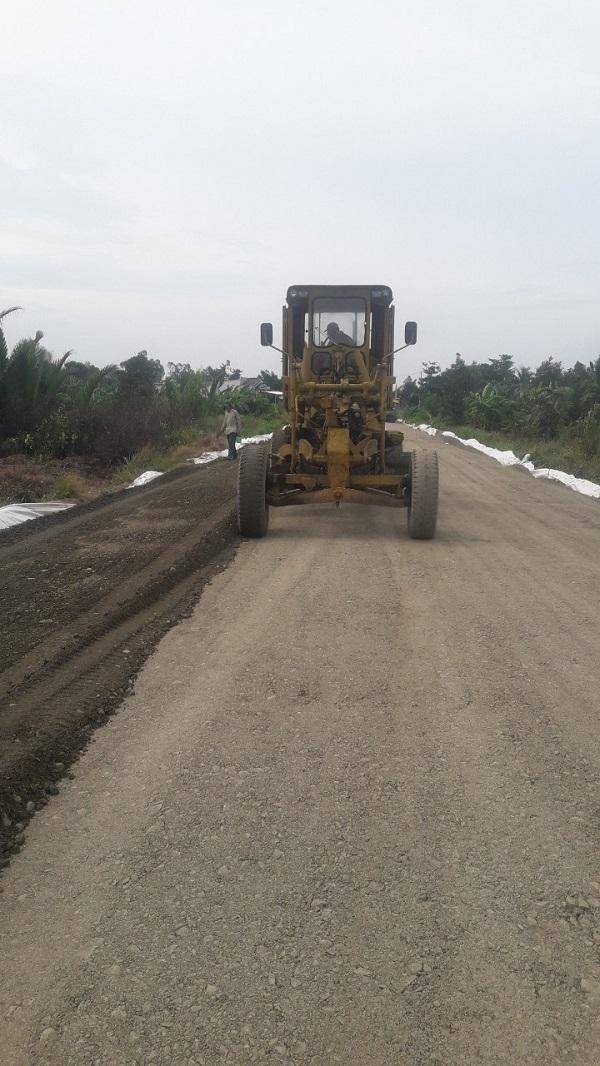 Quá trình thi công gia cố nền đất yếu bằng vải địa kỹ thuật TS40