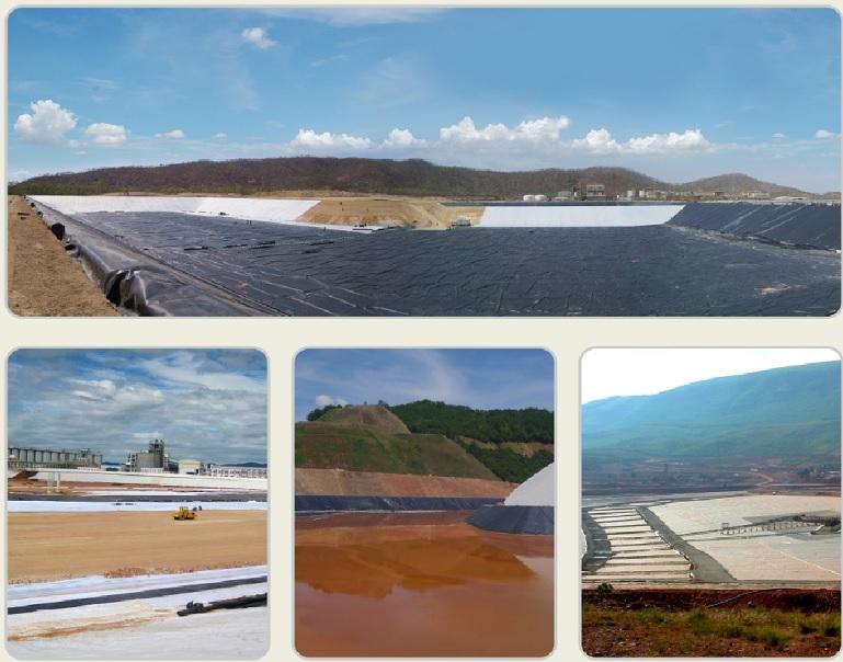 Ứng dụng của màng HDPE trong khai thác khoáng sản