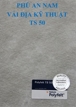 Vải địa kỹ thuật TS50 tại Quảng Nam, Vải địa kỹ thuật TS50, vải địa kỹ thuật không dệt TS50, vải địa ts50, ts50
